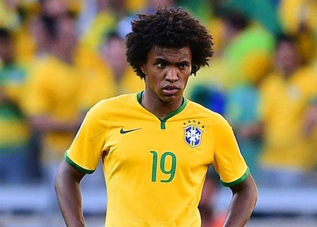 Full Brazil team career of Willian