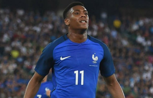 Detailed French career of Anthony Martial