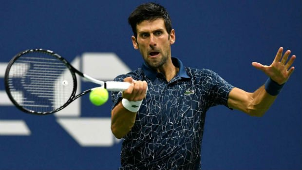 Novak Djokovic books his slot