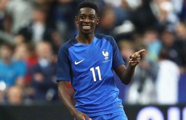 Detailed International career of Ousmane Dembele