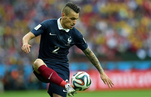 Detailed international career of Mathieu Debuchy